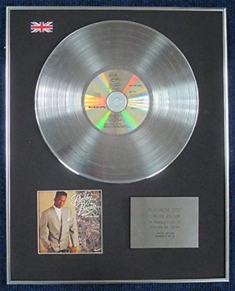 BOBBY BROWN - Limited Edition CD Platinum LP Disc - DON'T BE CRUEL