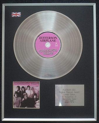 Jefferson Airplane - Limited Edition CD Platinum LP Disc - Surrealistic Pillow