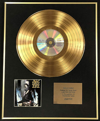 All About Eve - Exclusive Limited Edition 24 Carat Gold Disc - All About Eve