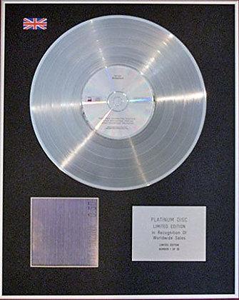 NEW ORDER - CD Platinum Disc -BROTHERHOOD