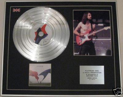 BIFFY CLYRO - CD Platinum Disc+Photo - ONLY REVOLUTIONS