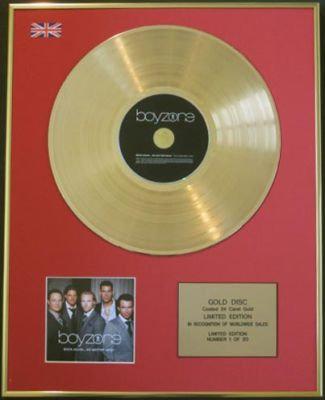 BOYZONE-CD 24 Carat GoldDisc-BACK AGAIN TO MATTER WHAT