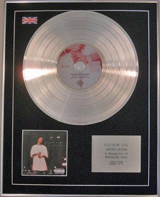 LIL WAYNE - Limited Edition CD Platinum Disc -  THA CARTER