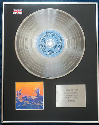 Pink Floyd- Limited Edition CD Platinum LP Disc - More