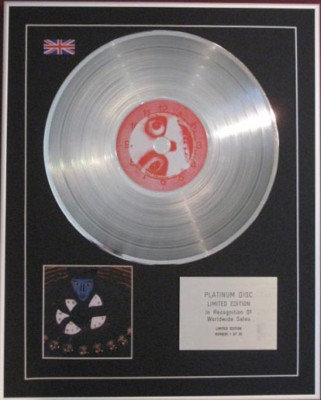 SYSTEM OF A DOWN - CD Platinum Disc - HYPNOTIZE