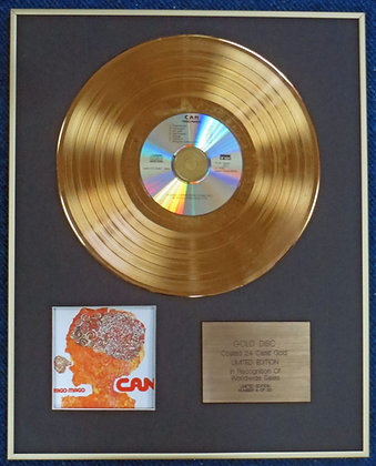CAN - Limited Edition CD 24 Carat Gold Coated LP Disc - TAGO MAGO