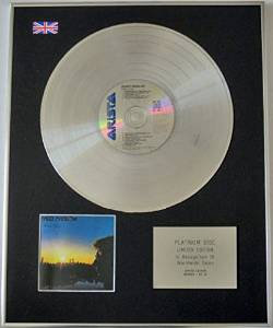 BARRY MANILOW - Limited Edition CD Platinum Disc - EVEN NOW