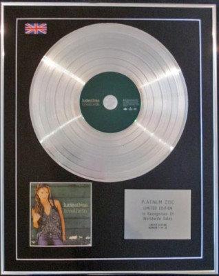 LUCIE SILVAS  CD Platinum Disc -BREATHE IN