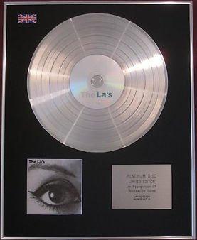 THE LA'S - CD Platinum Disc - THE LA'S