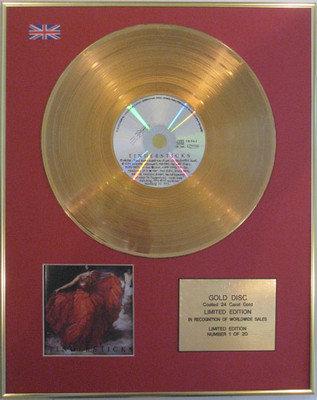 "TINDERSTICKS - Limited Edition 24 Carat Gold Disc CD -""TINDERSTICKS"""