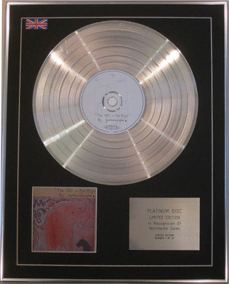GRAHAM COXON - Limited Edition CD Platinum Disc - THE SKY IS TOO HIGH