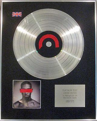 TINIE TEMPAH  - Limited Edition CD  Platinum Disc - DEMONSTRATION