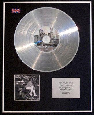 WHITNEY HOUSTON - Ltd CD Platinum Disc - I'M YOUR BABY TONIGHT