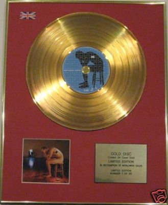 BIFFY CLYRO - Ltd Edition CD Gold Disc - PUZZLE