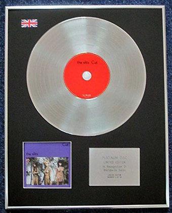 THE SLITS- Limited Edition CD Platinum LP Disc - 'THE SLITS'