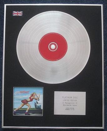 GERI HALLIWELL - CD Platinum LP Disc - SCREAM IF YOU WANNA GO FASTER