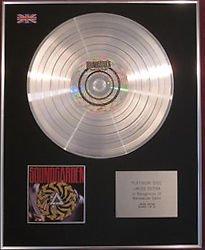 SOUNDGARDEN -  CD Platinum Disc - BADMOTORFINGER
