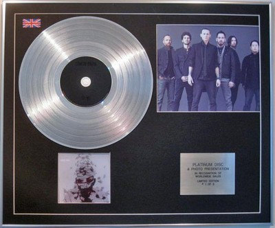 LINKIN PARK  -  CD Platinum Disc + Photo - LIVING THINGS