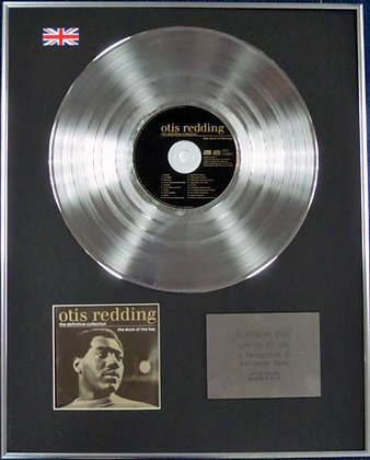 Otis Redding - Limited Edition CD Platinum Disc - The Dock of the Bay