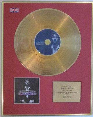 ENRIQUE IGLESIAS - Ltd Edition CD Gold Disc -INSOMINIAC
