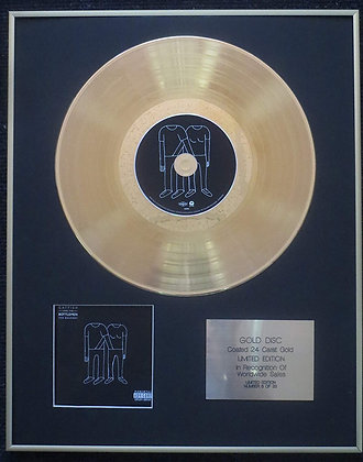 Catfish And The Bottlemen - Exclusive Limited Edition 24 Carat Gold Disc - The B