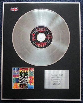 A Tribe Called Quest  - Cd Platinum Lp Disc  - People'S Instinctive?