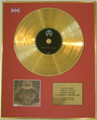 ATREYU-Ltd Edtn CD Gold Disc-CONGREGATION OF THE DAMNED