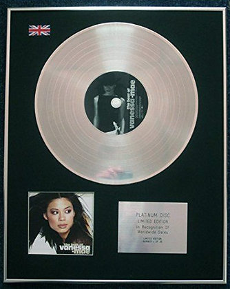 VANESSA-MAE - Limited Edition CD Platinum LP Disc - THE BEST OF