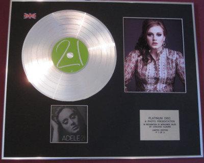 ADELE - Platinum Disc + Photo - 21