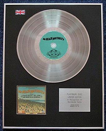 Fat Boy Slim and Midfield General - CD Platinum LP Disc - Big Beach?