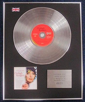 Clodagh Rogers - Limited Edition CD Platinum LP Disc - The best of