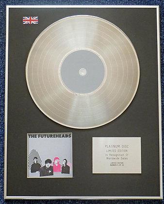 Futureheads - Limited Edition CD Platinum LP Disc - The Futureheads