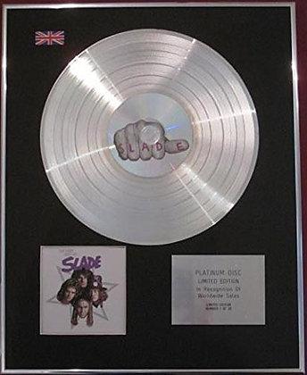 SLADE - CD Platinum Disc - THE VERY BEST OF SLADE