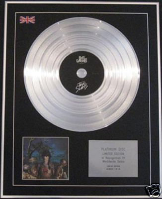 BAT FOR LASHES -Ltd Edition CD Platinum Disc - TWO SUNS