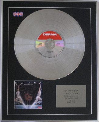 CAMEL -  CD Platinum Disc - RAIN DANCES