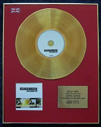 Ocean Colour Scene - 24 Carat Gold Coated LP Disc - North Atlantic Drift