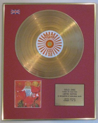 BRIAN WILSON-Ltd Edtn CD Gold Disc-THAT LUCKY OLD SUN