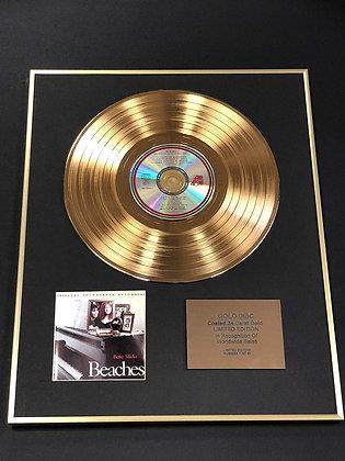 Beaches - Exclusive Limited Edition 24 Carat Gold Disc - Original Soundtrack