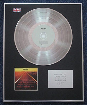 Starsailor - Limited Edition CD Platinum LP Disc - Love is here