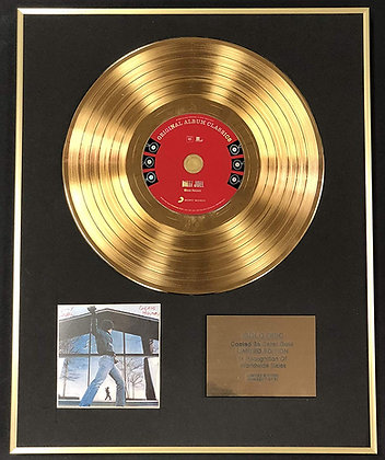 Billy Joel - Exclusive Limited Edition 24 Carat Gold Disc - Glass Houses