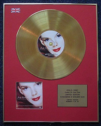 Judy Garland - 24 Carat Gold Coated LP Disc - Over the Rainbow