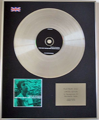 BELLE AND SEBASTIAN - CD Platinum Disc - THE BOY WITH THE ---