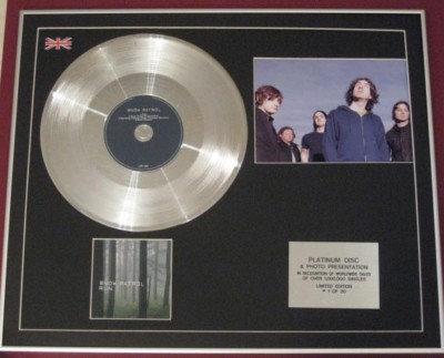 SNOW PATROL -Platinum Disc CD single + Photo - RUN