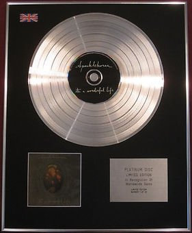 SPARKLEHORSE -  CD Platinum Disc  - IT'S A WONDERFUL LIFE