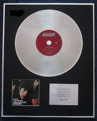 THE ROLLING STONES - CD Platinum LP Disc - OUT OF OUR HEADS (Worldwide)