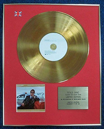 Elton John - LTD Edition CD 24 Carat Gold Coated LP Disc - Songs from the West…