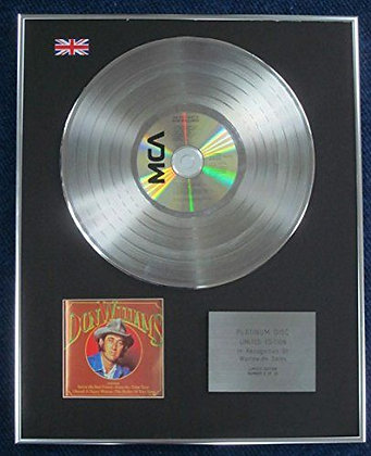 Don Williams- Limited Edition CD Platinum LP Disc - The very best