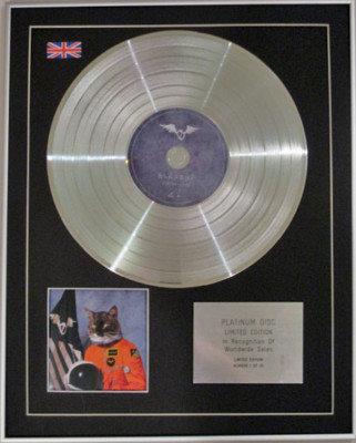 KLAXONS  -Ltd Edtn CD Platinum Disc -SURFING THE VOID