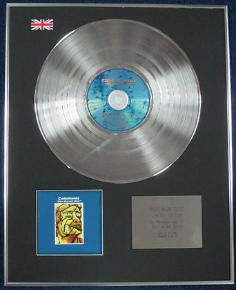 CATATONIA - Limited Edition CD Platinum Disc - WAY BEYOND BLUE