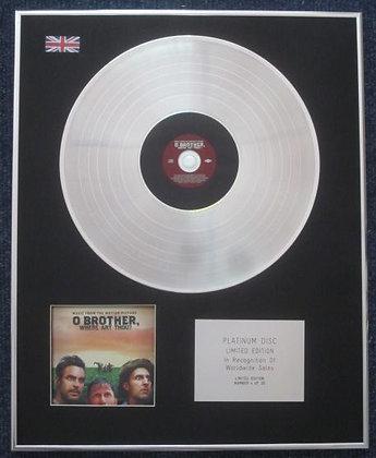 O BROTHER WHERE ART THOU ? - CD Platinum LP Disc - SOUNDTRACK